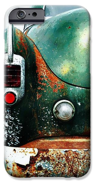 Rust iPhone Cases - Rusty and Classic iPhone Case by CJ Anderson