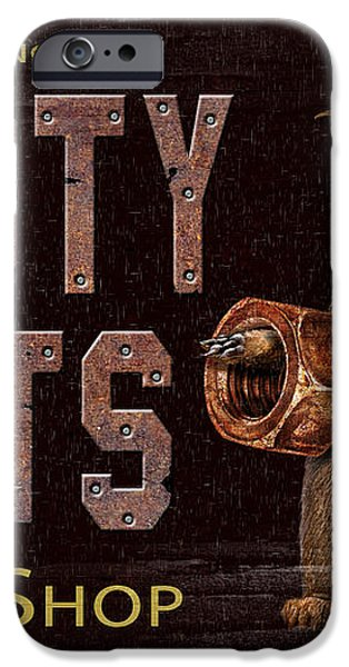 Rusty Nuts iPhone Case by JQ Licensing