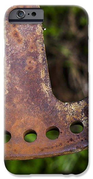 Rusty Plow Part iPhone Case by Steven Ralser