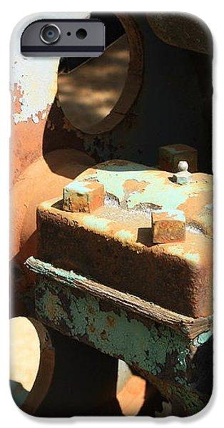 Rusty Wheel Gear iPhone Case by Carol Groenen