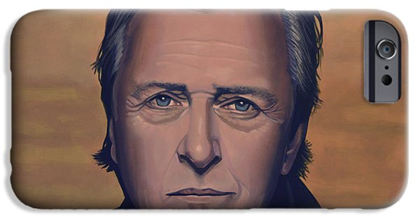 Fury iPhone Cases - Rutger Hauer iPhone Case by Paul  Meijering