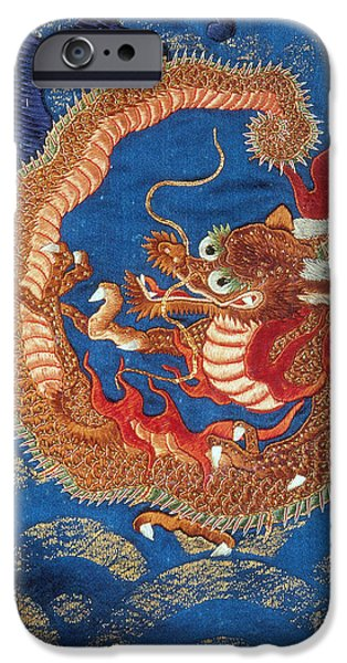 Serpent iPhone Cases - Ryujin, Japanese Dragon God Of The Sea iPhone Case by Photo Researchers