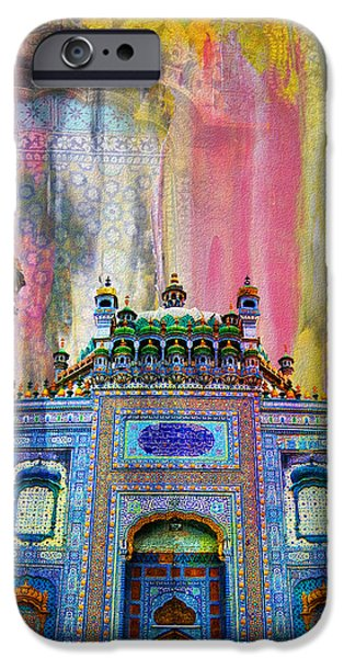 Tomb iPhone Cases - Sachal Sarmast Tomb iPhone Case by Catf