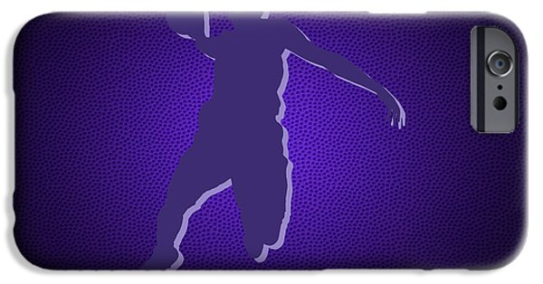 Dunk iPhone Cases - Sacramento Kings Rudy Gay iPhone Case by Joe Hamilton