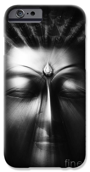 Buddhism iPhone Cases - Sacred Eyes  iPhone Case by Tim Gainey