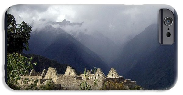 Historic Site iPhone Cases - Sacred Mountain Echos iPhone Case by Barbie Corbett-Newmin