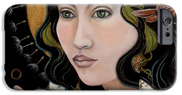 Gaia iPhone Cases - Sacred iPhone Case by Sheri Howe