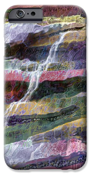 Fed iPhone Cases - Sacred Spring iPhone Case by Ursula Freer