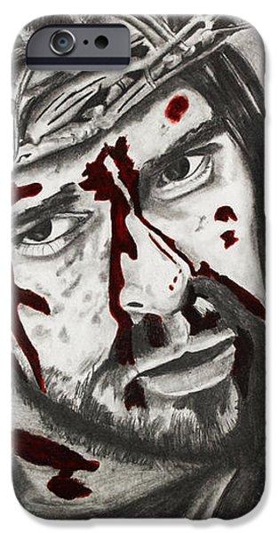 Sacrifice iPhone Case by Nick Vogt