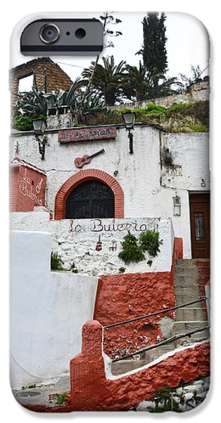 White House iPhone Cases - Sacromonte Caves iPhone Case by RicardMN Photography