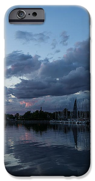Safe Harbor After the Storm iPhone Case by Georgia Mizuleva