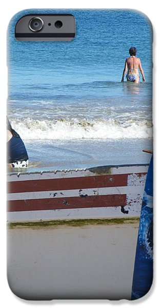 Brian Boyle iPhone Cases - Safe to go in the water iPhone Case by Brian Boyle