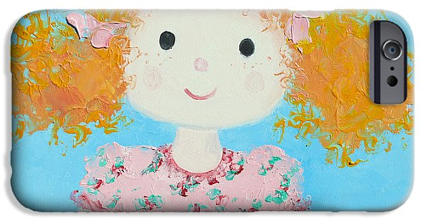 Rag Doll iPhone Cases - Saffron iPhone Case by Jan Matson