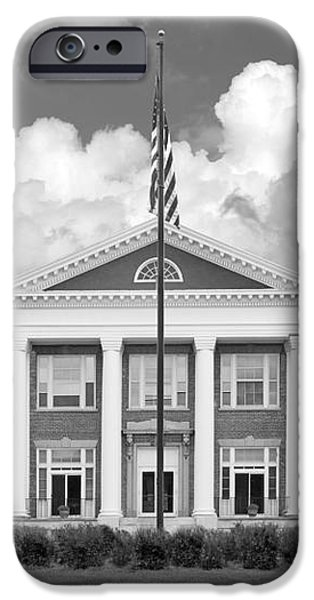 Sage College Administration Building iPhone Case by University Icons