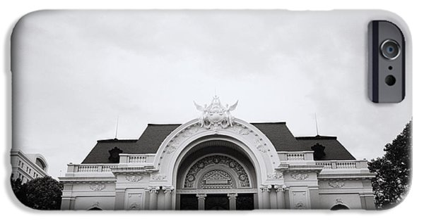White House iPhone Cases - Saigon Opera House iPhone Case by Shaun Higson