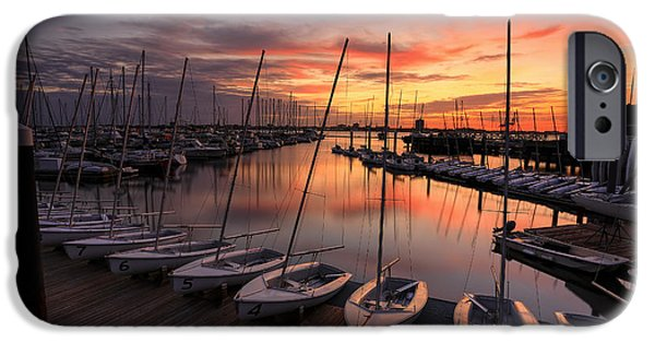 Patriots iPhone Cases - Sail Away - Charleston iPhone Case by Douglas Berry
