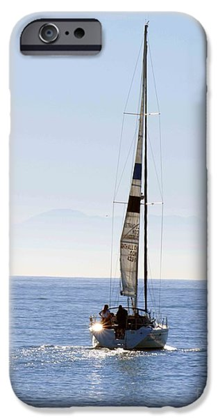 Sail Into the Future iPhone Case by Artist and Photographer Laura Wrede