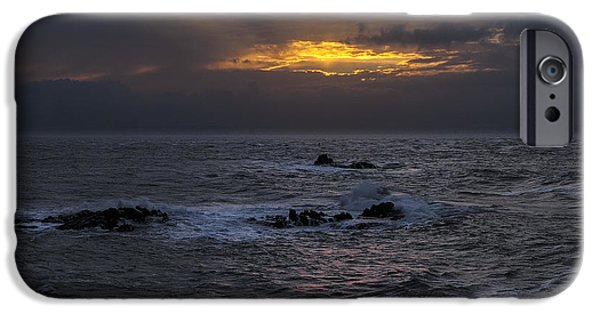 Quoddy iPhone Cases - Sail Rock Sunrise 2 iPhone Case by Marty Saccone