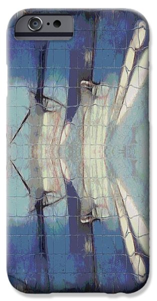 Brig iPhone Cases - Sail Ship Reflection iPhone Case by Dan Sproul