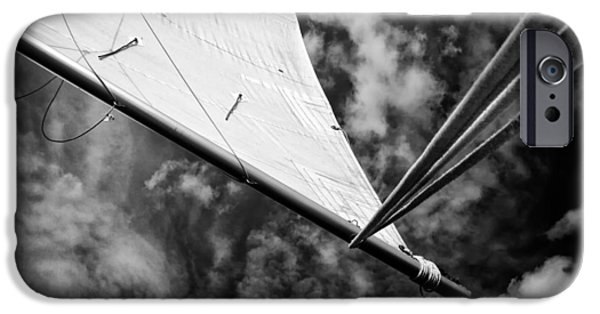 Sailing iPhone Cases - Sail iPhone Case by Stylianos Kleanthous