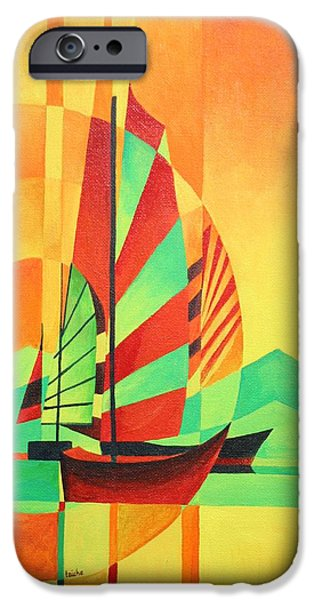 Sail to Shore iPhone Case by Tracey Harrington-Simpson