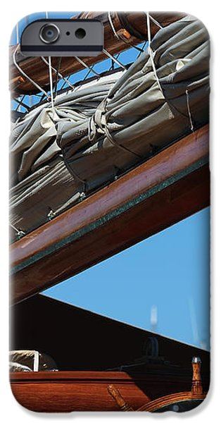 Sailboat Boom iPhone Case by John Rizzuto