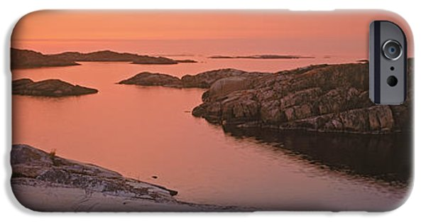 Sailboats iPhone Cases - Sailboat On The Coast, Lilla Nassa iPhone Case by Panoramic Images