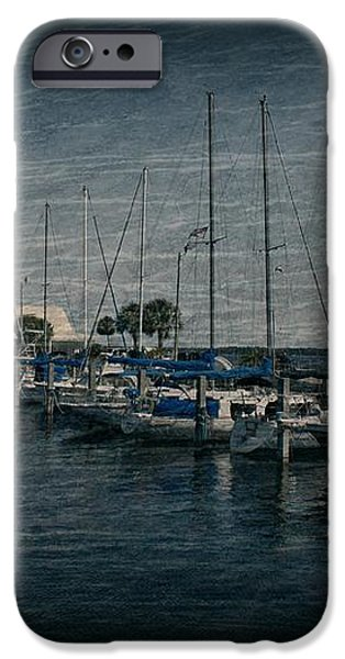Sailboats iPhone Case by Sandy Keeton