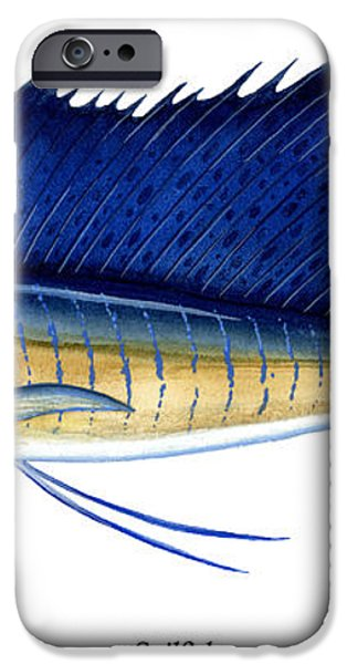 Sailfish iPhone Case by Charles Harden