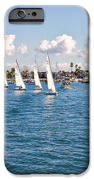 Sailing iPhone Case by Angela A Stanton