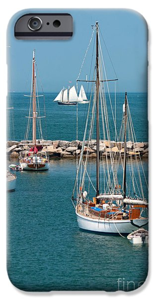 Vineyard Photograph iPhone Cases - Sailing Away iPhone Case by Michelle Wiarda