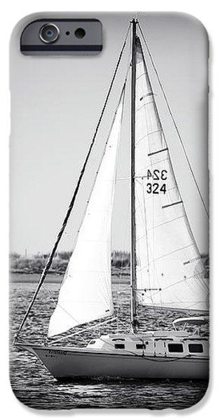 Sailing LBI iPhone Case by John Rizzuto