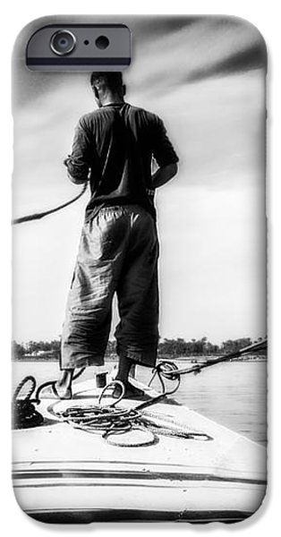 Sailing On The Nile iPhone Case by Erik Brede