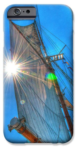 Tall Ship iPhone Cases - Sailing iPhone Case by Patti Raine