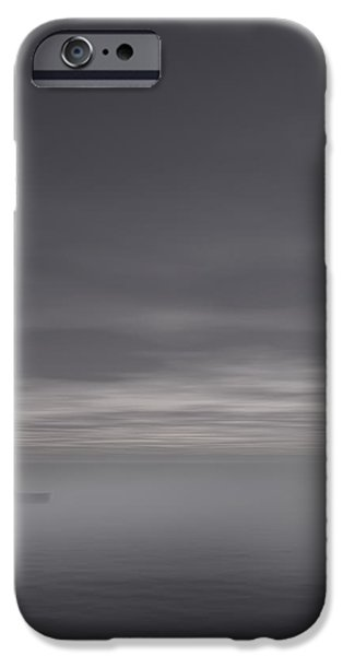 Sailing Solitude iPhone Case by Lourry Legarde