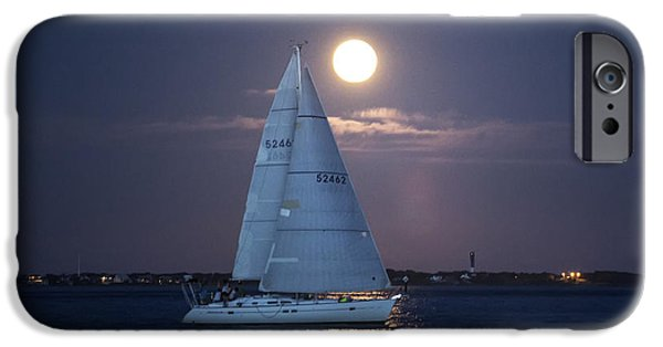Sailing Yacht iPhone Cases - Sailing Yacht Tohidu iPhone Case by Dustin K Ryan