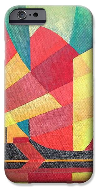 Sails and Ocean Skies iPhone Case by Tracey Harrington-Simpson