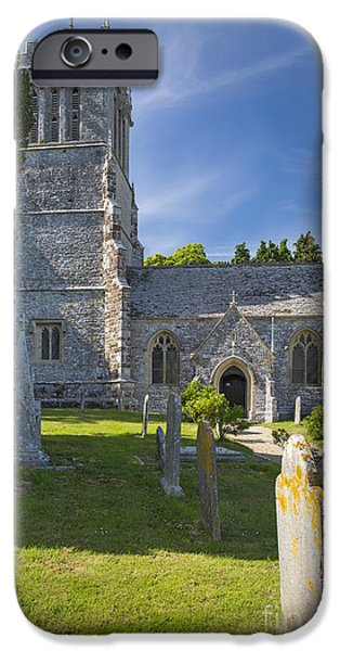 Headstones iPhone Cases - Saint Andrews - Lulworth iPhone Case by Brian Jannsen