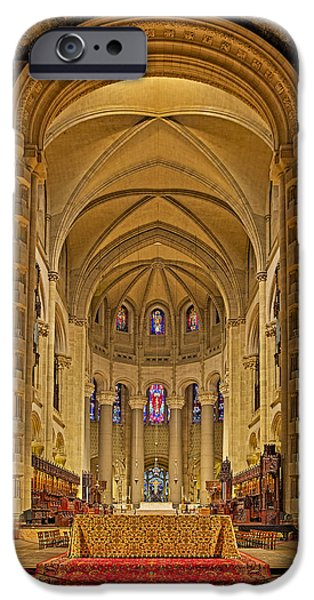 Building iPhone Cases - Saint John The Divine Cathedral High Altar  iPhone Case by Susan Candelario