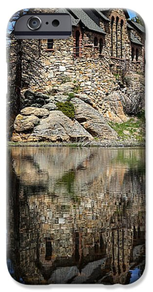Chapel On The Rock iPhone Cases - Saint Malo Chapel iPhone Case by Shane Bechler