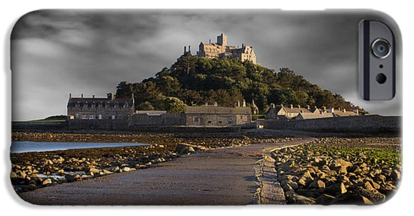 Cathedral Rock iPhone Cases - Saint Michaels Mount iPhone Case by Martin Newman