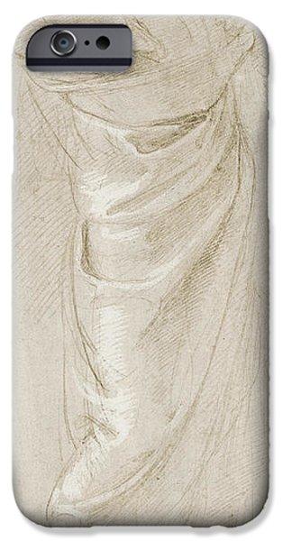 Torn iPhone Cases - Saint Paul Rending His Garments iPhone Case by Raphael
