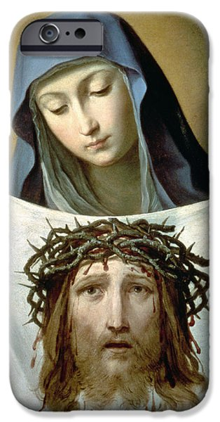 Saint Veronica iPhone Case by Guido Reni