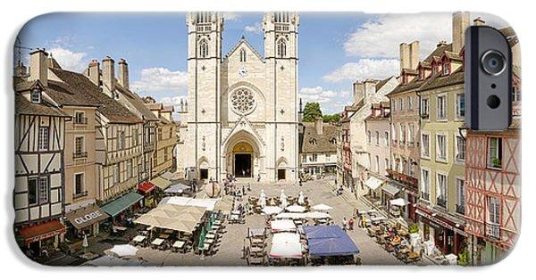 Industry iPhone Cases - Saint-vincent De Chalon-sur-saone iPhone Case by Panoramic Images