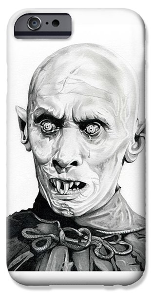 Haunted House iPhone Cases - Salems Lot iPhone Case by Fred Larucci
