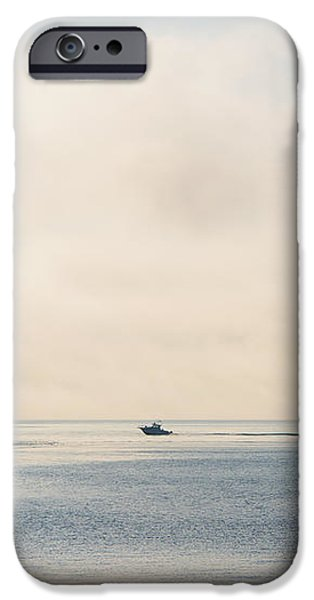 Salish into the Fog iPhone Case by Mike  Dawson