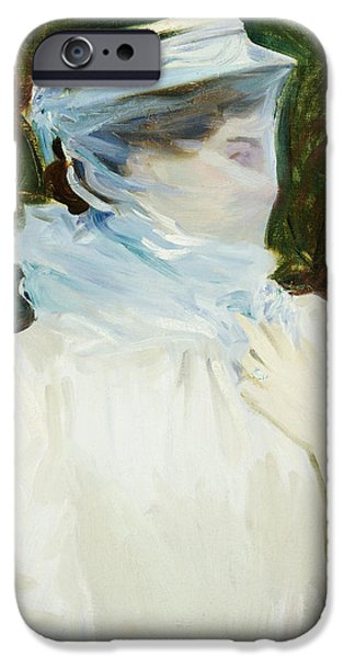 Sally Fairchild iPhone Case by John Singer Sargent