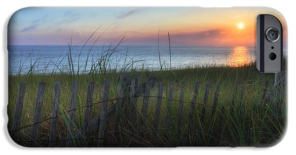 Cape Cod Landscapes iPhone Cases - Salty Air iPhone Case by Bill  Wakeley