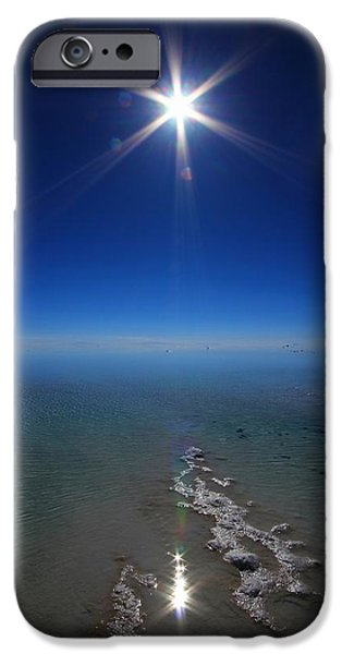 Beautiful iPhone Cases - Salty Sun iPhone Case by FireFlux Studios