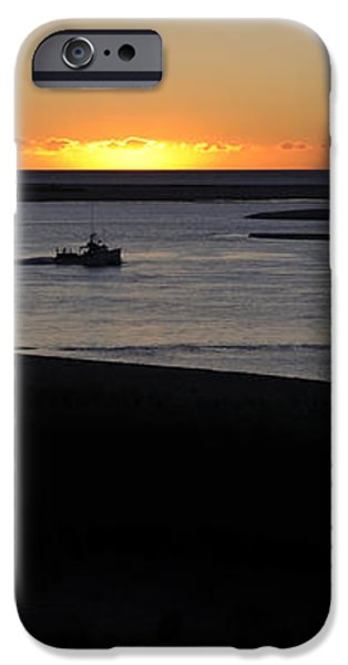 Salty Sunrise iPhone Case by Luke Moore